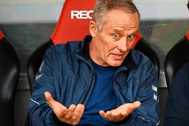 Video: Torflaute seiner Stürmer lässt Trainer Streich kalt