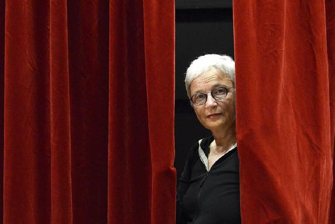 Vorhang auf für Barbara Mundel als Intendantin der Münchner Kammerspiele    Foto: Ingo Schneider