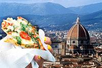 In der Altstadt von Florenz dürfen Touristen nicht mehr auf der Straße essen