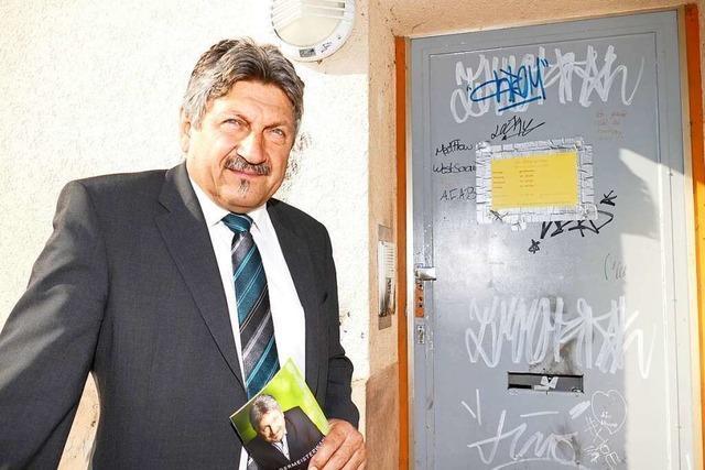 Rundgang mit Bürgermeisterkandidat Roland Matzker