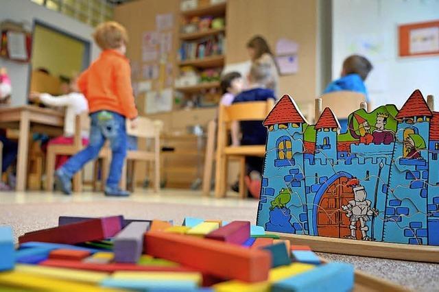 Kindergarten und Wohnungen unter einem Dach