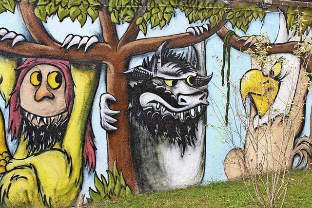 Wilde Kerle wohnen im Stadtpark