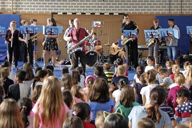 Stony-Band begeistert Grundschüler