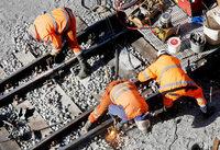 Die Deutsche Bahn fährt auf dem falschen Gleis