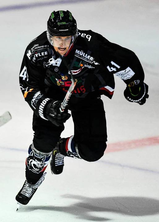 Erzielte einen der beiden Freiburger Treffer: Jannik Herm   | Foto: Seeger
