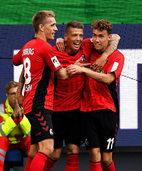 Fotos: Sportclub Freiburg setzt sich 3:1 in Wolfsburg durch