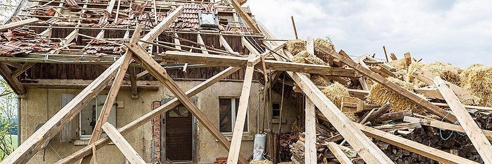 Versicherungen für Wohngebäude werden teurer - wegen des Klimawandels