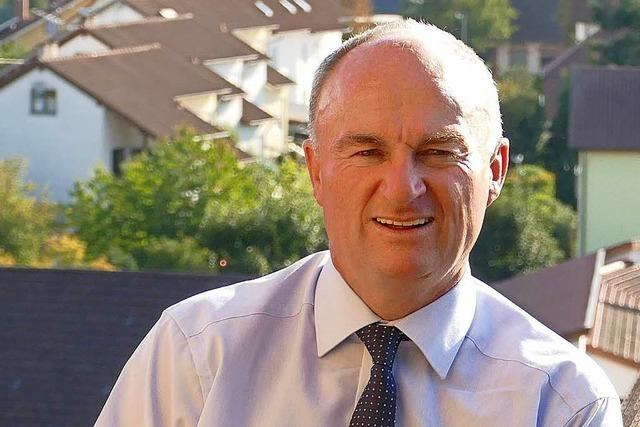 Dietmar Benz bleibt wie erwartet Bürgermeister von Mahlberg