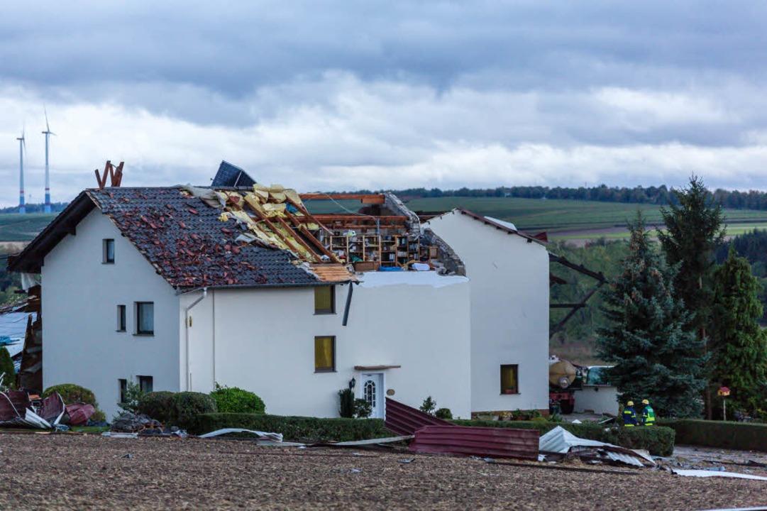 Gebäudeschäden in Rheinland-Pfalz  | Foto: dpa