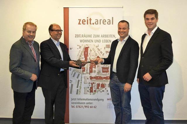 Die Firma Wilhelm Architektur steigt im Zeitareal Lahr als Investor ein