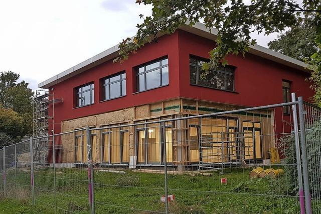 Endspurt für Schallstadts neues Schulgebäude