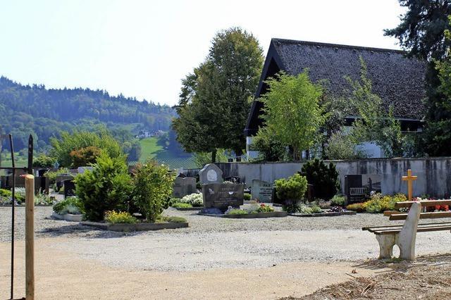 Friedhof steht vor der Sanierung