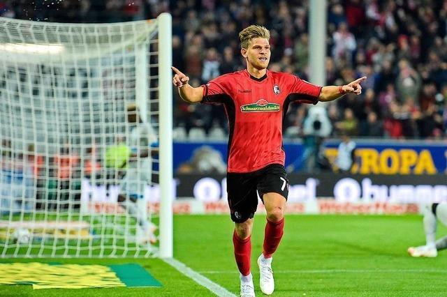 Bilder zum Spiel: SC Freiburg feiert ersten Heimsieg