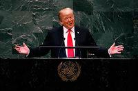 """Trump wendet sich vor der UN gegen die """"Idee des Globalismus"""""""