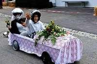 Am Wochenende findet wieder das Seifenkistenrennen in Herdern statt