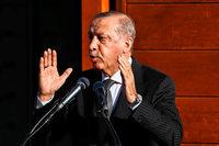 Erdogan beendet Staatsbesuch nach Moschee-Eröffnung