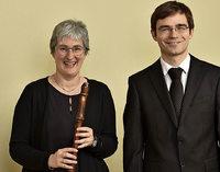 Anette Däublin-Schwarz und Matthias Flierl in St. Blasien