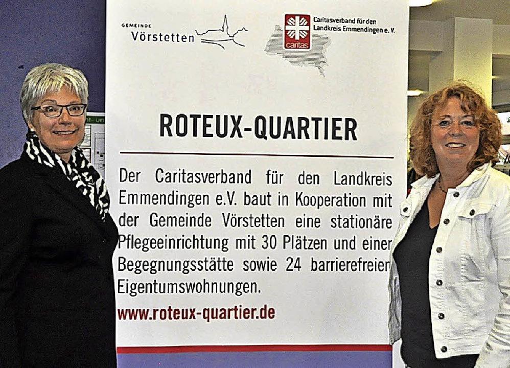Mathea Schneider (links) und Birgitt R...ürgerschaftliches Engagement fördern.   | Foto: Herbert Geisler
