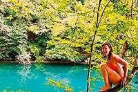 Dieses Buch stellt die schönsten Naturgewässer in Frankreich vor