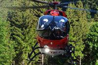 Motorradfahrerin zieht sich auf B 317 bei Bärental schwerste Verletzungen zu