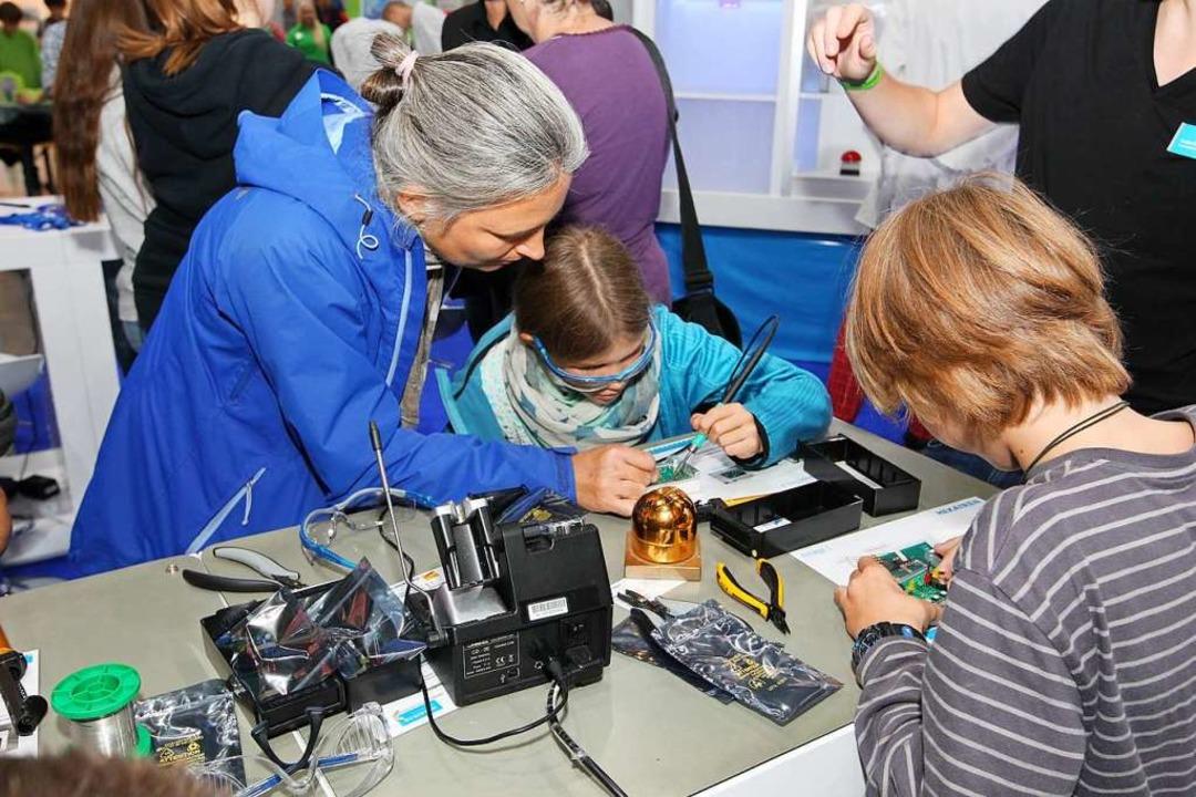 Wissenschaft erleben bei den Science Days   | Foto: Science Days