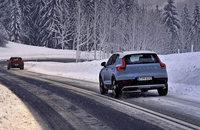 Neue Reifen vor dem Schnee