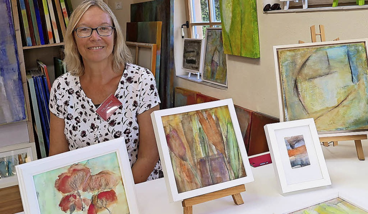 Arbeits- und Ausstellungsort: Gerlinde Dettling in ihrem Atelier  | Foto: Beatrice Ehrlich