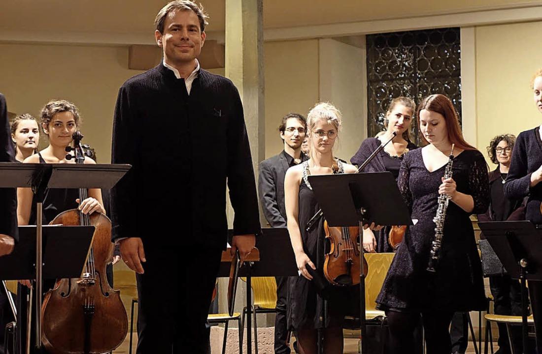 Der Bassbariton Hanno Müller-Brachmann...chluss des Markgräfler Musikherbstes.   | Foto: Roswitha Frey