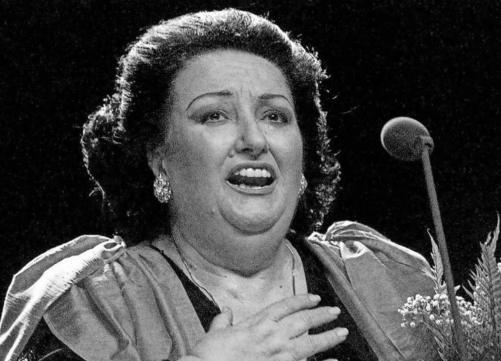 Montserrat Caballé   | Foto: dpa