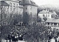 Hubert Bernnat spricht im Lörracher Dreiländermuseum zur Zeitenwende 1918/19 in Lörrach und Umgebung