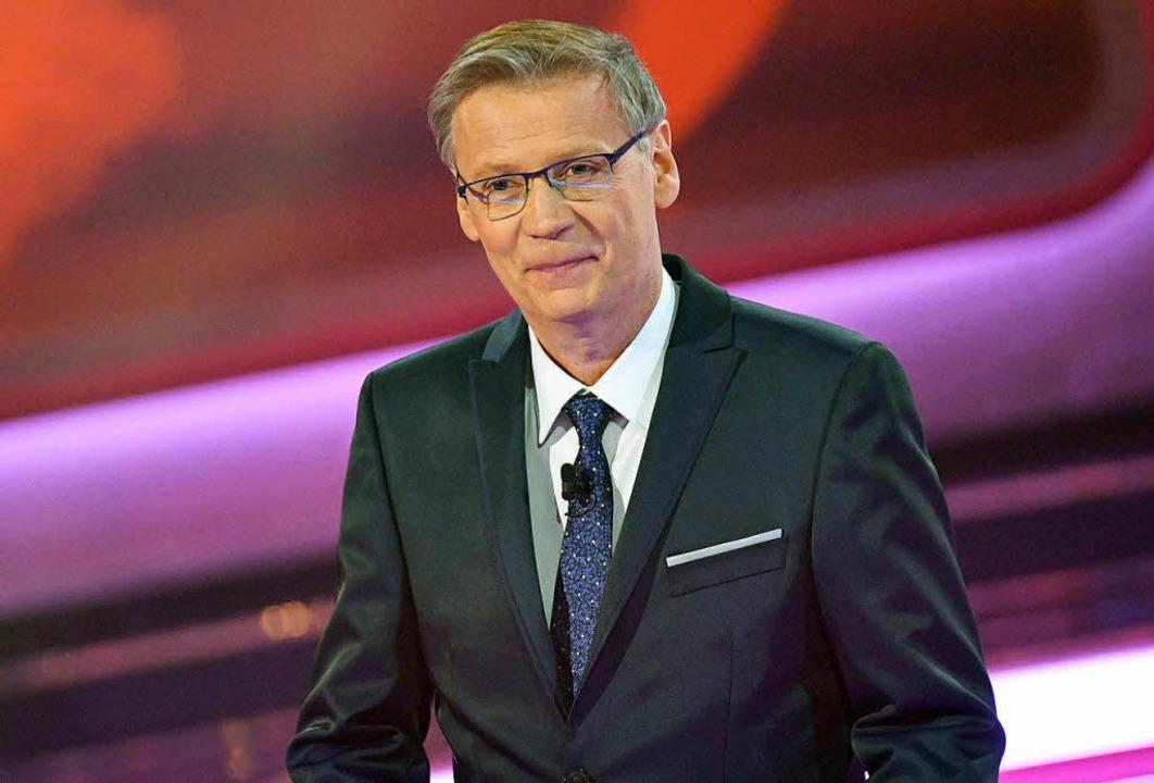 Günther Jauch ist zum Beispiel ein bekannter Fernseh-Moderator.   | Foto: dpa