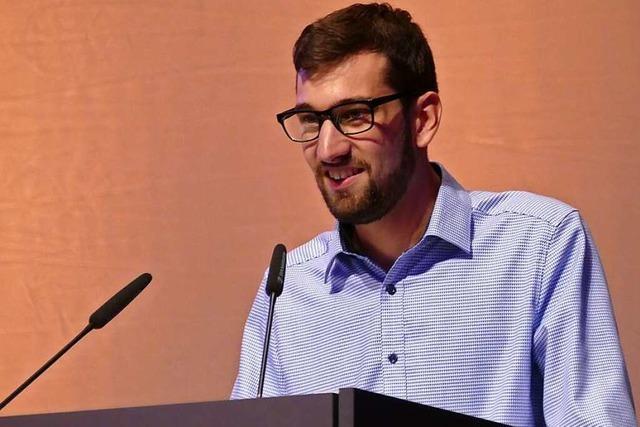 Tobias Isenmann will Oberbürgermeister werden