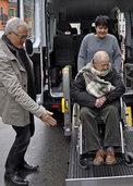 Angenehme Stunden mit Senioren