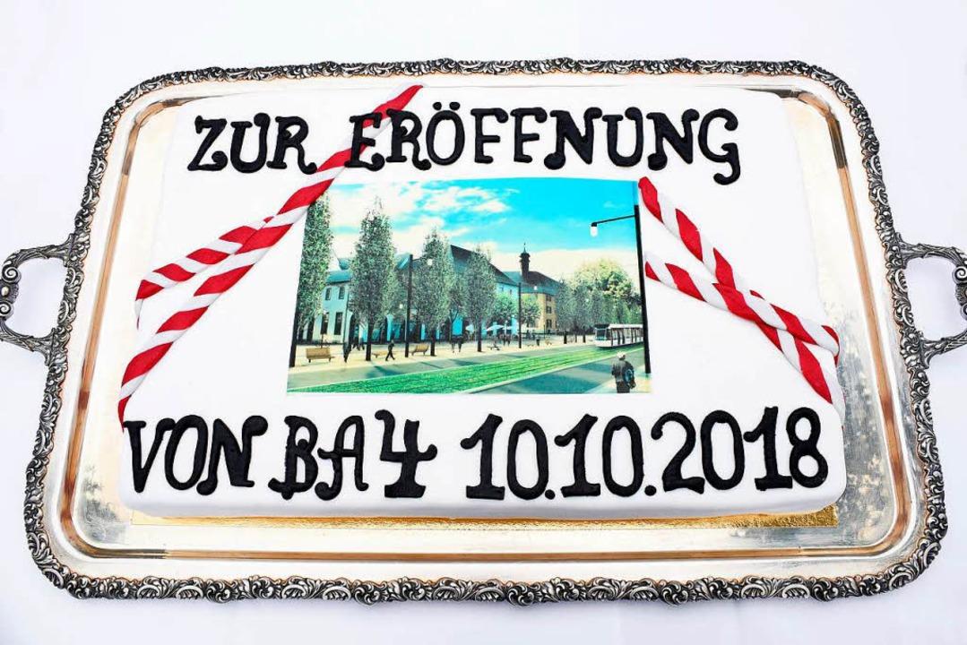Ein Kuchen für den Rotteckring.  | Foto: Thomas Kunz