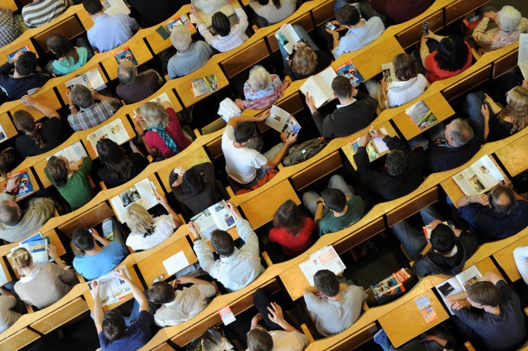 Vorlesungen können spannend und lehrre...rden, meint fudder-Autor Cédric Kuric.  | Foto: dpa