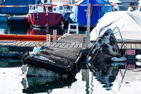 Rund eine halbe Million Euro Schaden nach Brand in Yachthafen
