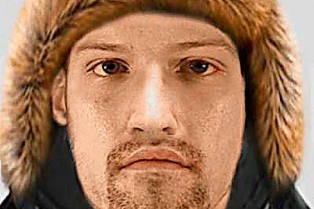 Mit diesem Phantombild sucht die Polizei den Unbekannten.   | Foto: polizei