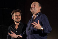 Tilo Wachter und Mike Schweizer als Duo im Weiler Kesselhaus