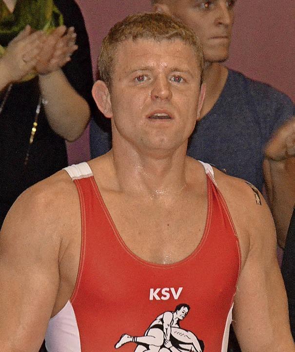 Fünf Kämpfe, fünf Siege: Andrius Reisch. 45 seiner Duelle gewann der KSV.    | Foto: Rogowski