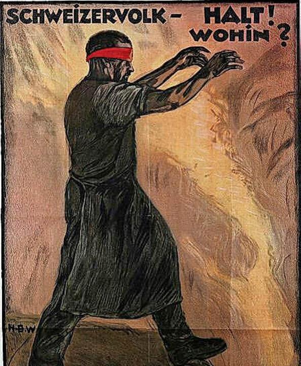 Plakate der Ausstellung 1918/19 im Museum  | Foto: David-Wenk (2)/Museum