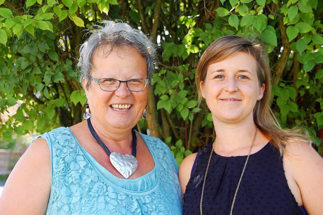Silvia (links) und Jennifer Amrein   | Foto: Wunderle