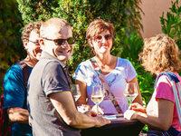 """Fotos: So war's beim """"Stein & Wein""""-Fest im Garten der Münsterbauhütte"""
