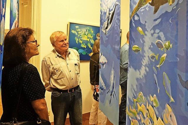 Sieben Künstler zeigen bei der Ausstellung