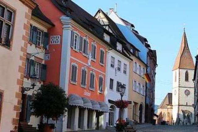 Bürgermeisterwahl in Endingen am 11. November