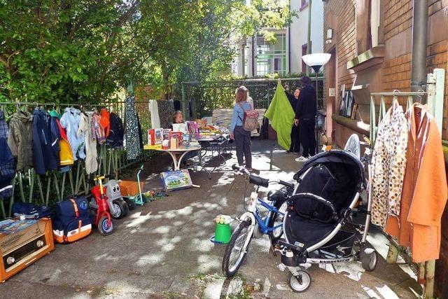 Entspannt und gesellig: Ein Besuch auf dem Wiehremer Nachbarschaftsflohmarkt
