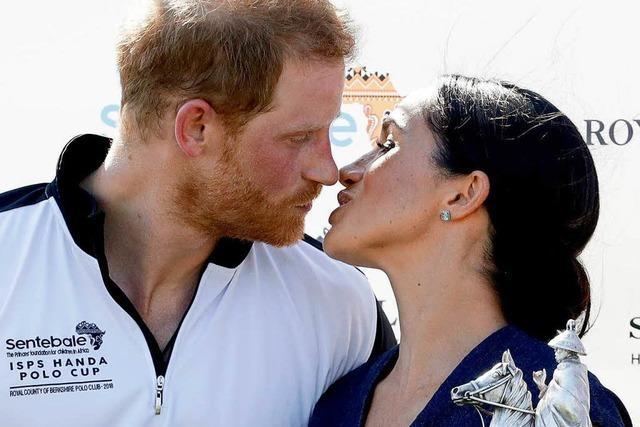 Herzogin Meghan und Prinz Harry erwarten ihr erstes Kind