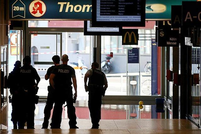 Geiselnehmer im Kölner Hauptbahnhof gefasst