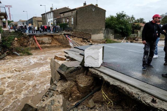 10 Menschen sterben bei Überschwemmungen in Südfrankreich