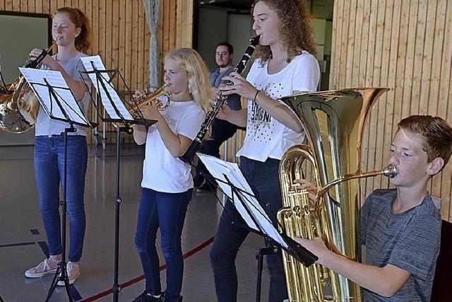 Jungmusiker zeigen, was sie können