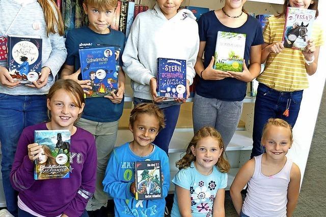 Viele Kinder lesen gerne
